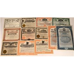 Safety Razor Stock Certificate Collection  [127955]