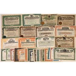Stores and Chain Stores Stock Certificate Collection  [127884]