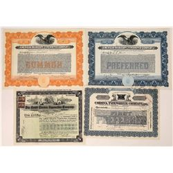 Typewriter Company Stock Certificates  [128436]