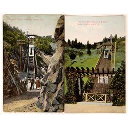 Mountain Railway at Avalon Santa Catalina Island  Postcards  [122364]
