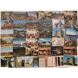 Berkeley Postcard Collection & Ephemera  [129097]