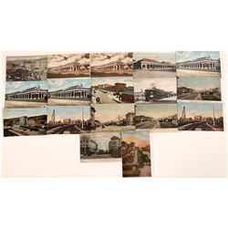 Berkeley Railroad and Street Scenes Postcards  [128511]