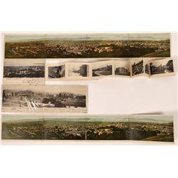 Panorama Folding Postcards of Berkeley Views  [128513]