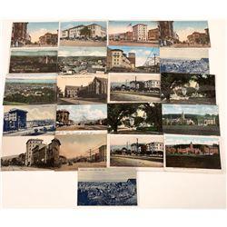 Vintage Berkeley Street Scene & Birdseye View Postcards  [128512]
