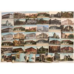 Vintage Postcard Collection of Berkeley Buildings  [128514]