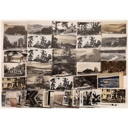 Carmel Vintage Postcard and Real Photo Postcard Collection  [129100]