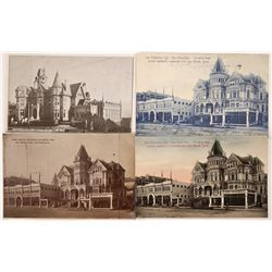 San Francisco Victorian Architecture Postcards  [122330]