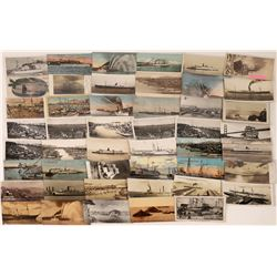 Ships and the San Francisco Harbor Postcard Collection  [124772]