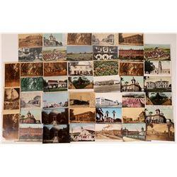 Santa Clara Real Photo Postcard Collection  [128390]