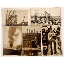 California Oil Wells Real Photo Postcards  [128358]