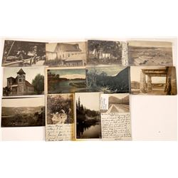 California Postal History on Real Photo Postcards Collection  [122371]