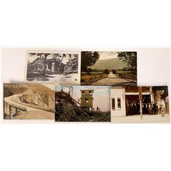 Carmel Monterey Pacific Grove Real Photo Postcards  [128382]