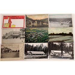 Colusa & Tehema County Postcard Collection  [128398]
