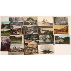 Lake and Mendocino County Postcard Collection  [128394]