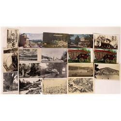 Plumas and Nevada County Postcard Collection  [128391]