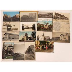 Santa Barbara, San Luis Obispo and Ventura County Postcard Collection  [128377]