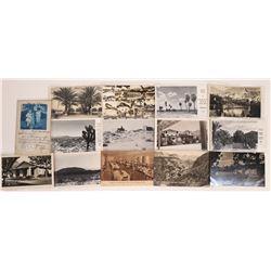 Southern California Desert Real Photo Postcards  [128396]