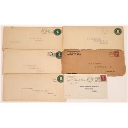 H.F. Heitmann Postal Covers  [128322]