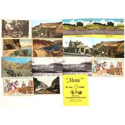Nevada Postcard Collection & Brothel Menu  [128409]