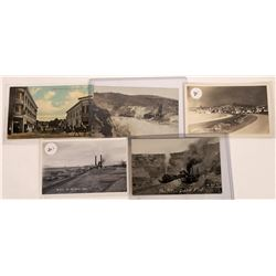 Real Photo Postcards of Mining in Eastern Nevada  [128339]