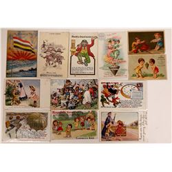 Advertising Postcards and Store Cards  [128352]