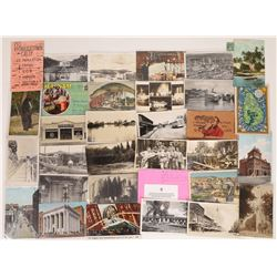 After Sort Dealers Lot of Real Photo and Miscellaneous Postcards  [128383]