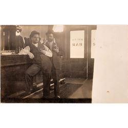 Saloon Real Photo Post Card   [128318]
