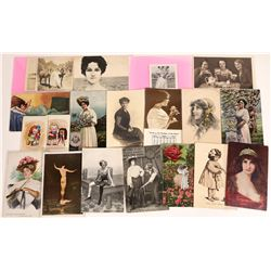 Postcards with Women  [128350]