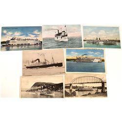 Riverboat Postcards  [131037]