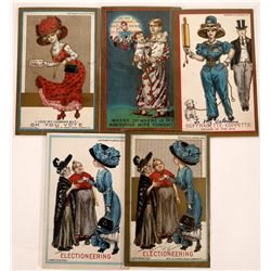 Suffragette Postcard Series by Dunston-Weiler Lithograph Co.  [122387]