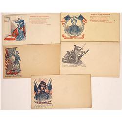 Civil War Envelope Vignettes of Col. Ellsworth  [129139]
