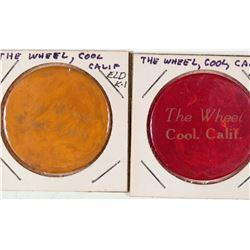 The Wheel Poker Chips  [129255]