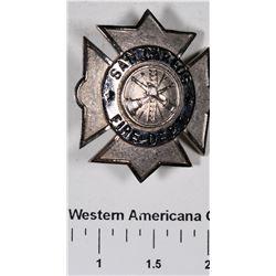 San Carlos Fire Department Badge  [129132]