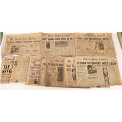 Newspaper Archive from 1930's & 40's  [127807]