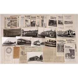 California Railroad and Streetcar Collection  [127932]