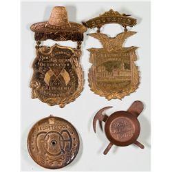 California Souvenir Badges  [129252]
