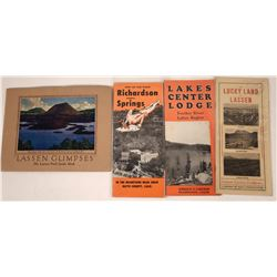 Lassen and Butte County Tourist Brochures  [127930]