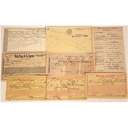 Wells Fargo & Co's Express California Receipt Collection  [127924]