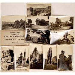 Set of 12 Garden of the Gods Photographs  [128867]