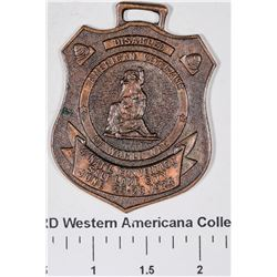 1924 Convention Disabled Veterans of World War I Fob  [129131]
