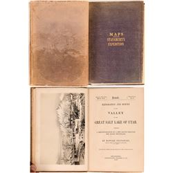 Exploration and Survey of the Valley of Great Salt Lake of Utah, Howard Stansbury, Books w/ Maps
