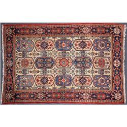 Antique Carpet / Possibly Herize Serapi Tribal Carpet  [102102]