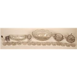 Lead Crystal Cut Glass Tableware  [121543]