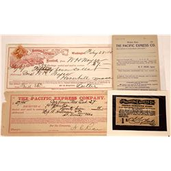 Harnden, Pacific & American Express Company Documents  [127936]