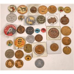Racing Medals and Pinback Collection  [122339]