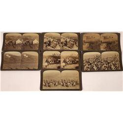 Siege of Port Arthur Stereo Cards  [128012]