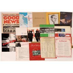 Theatre Program Collection  [127841]