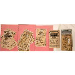 Wells Fargo & Co's Money Order Remitter's Receipt Collection  [127917]