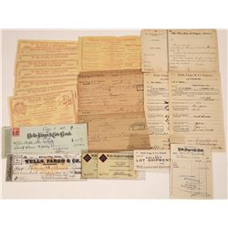Wells Fargo Ephemera Collection  [127913]