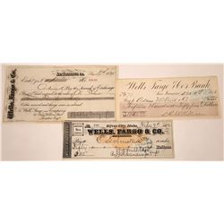 Wells, Fargo & Co. Second of Exchange and Checks  [127927]